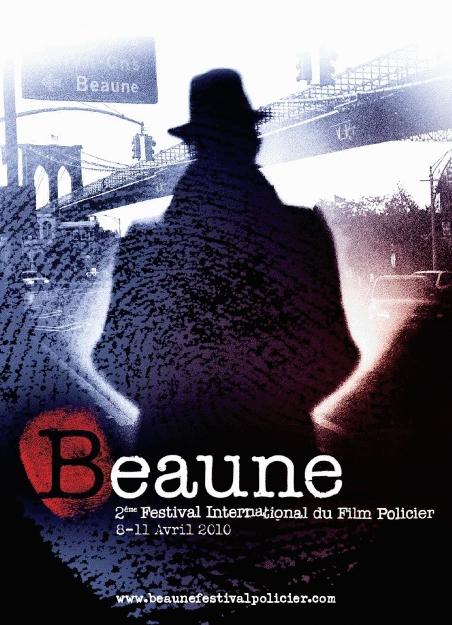 Affiche du Festival du film policier 2010