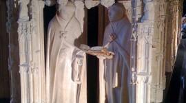 Un pleurant du tombeau de Philippe le Hardi par Alexis.mons CC:by-nc-nd/2.0/