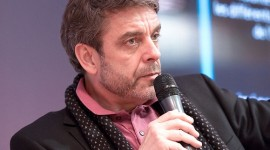 Philippe Lefait, journaliste sur France 2, au Salon du livre de Paris pour le débat Peut-on tout publier ? par Georges Seguin cc:by/sa/1.0