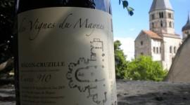 Bouteille des Vignes du Maynes à Cluny