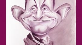 Caricature Sarkozy  Chateau Morange