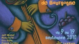 Affiche dessinée par Virginie Pfeiffer pour le Festival de Jazz à Beaune 2010