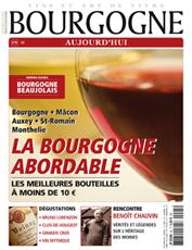 Couverture de Bourgogne Aujourd'hui