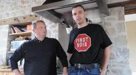 Jean-Pierre Confuron et Thomas Cabrol