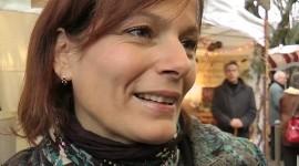 Cécilia Hornus au coeur de la fête dans les rues de Beaune- Aurélien Ibanez