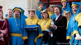 Stéphane Bern pour le lancement de la 150e Vente des Vins de Beaune