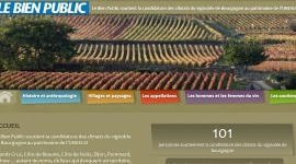 Climats de Bourgogne soutenus par le BP