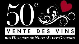 affiche 50e Vente des Vins des Hospices de Nuits 2011