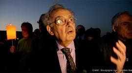 Bernard Pivot -Marche des Climats de Bourgogne- Aurélien Ibanez