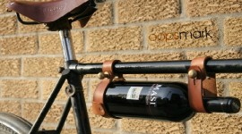 Wine Bike Rack by oopsmark.ca