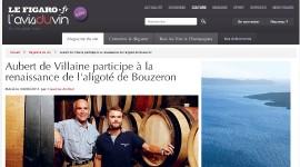 Aubert de Villaine et Pierre de Benoist sur l'Avis du Vin du Figaro