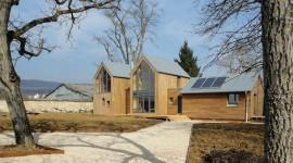Maison bioclimatique Chantier du Pot de fer crédit :  Atelier Zéro Carbone