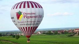 Montgolfière du Domaine Pigneret par Aurélien Ibanez