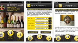 Voir l'application Tastevinage pour iphone