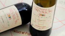 Trévallon étiquettes Copyright Trévallon