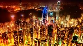 Hong Kong Skyline par Sprengben [why not get a friend] CC : by-nc-sa/2.0/