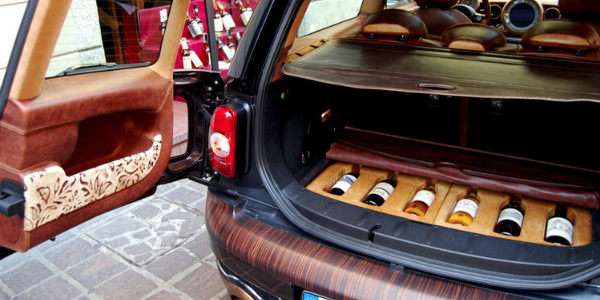 Après Le Mini Van La Mini Vin Une Mini Clubman Customisée Avec