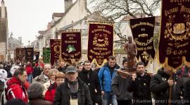 Défilé de la Saint-Vincent Tournante des Climats de Bourgogne 2012 à Nuits Saint-Georges - Photo Aurélien Ibanez