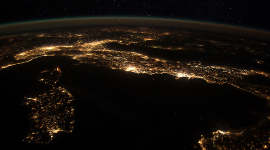 European Panorama par NASA's Marshall Space Flight Center  CC : by-nc/2.0/