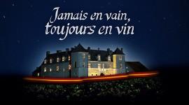 affiche Jamais en Vain, Toujours en Vin par Aurélien Ibanez