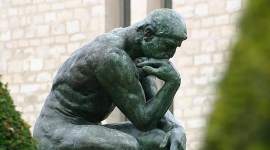 Le Penseur   Musee Rodin par BabyDinosaur CC : by-nc-nd/2.0/