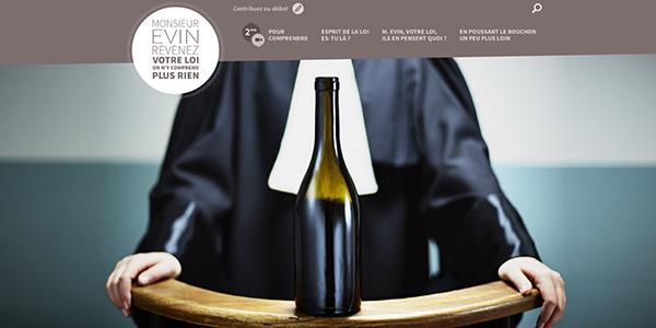 La place du vin sur Internet et les réseaux sociaux est menacée : mobilisation des 500.000 acteurs de la vigne et du vin